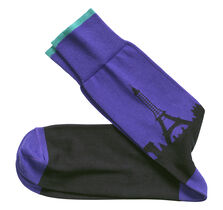 Paris Skyline Socks