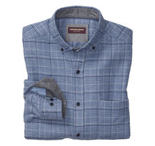 Brushed Heather Glen Plaid Shirt