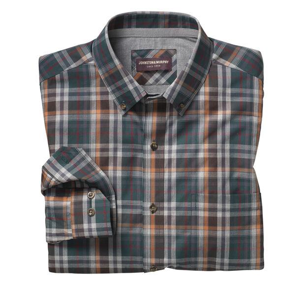 Large Heather Plaid Shirt