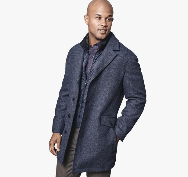 Tailored Tweed Coat
