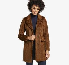 Crushed Teddy Coat