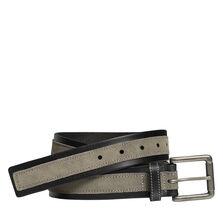 Suede Overlay Belt