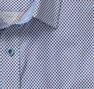 Diagonal Stripe Cross Print Shirt
