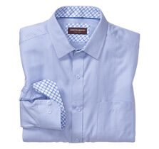 Micro Cross Line Dress Shirt