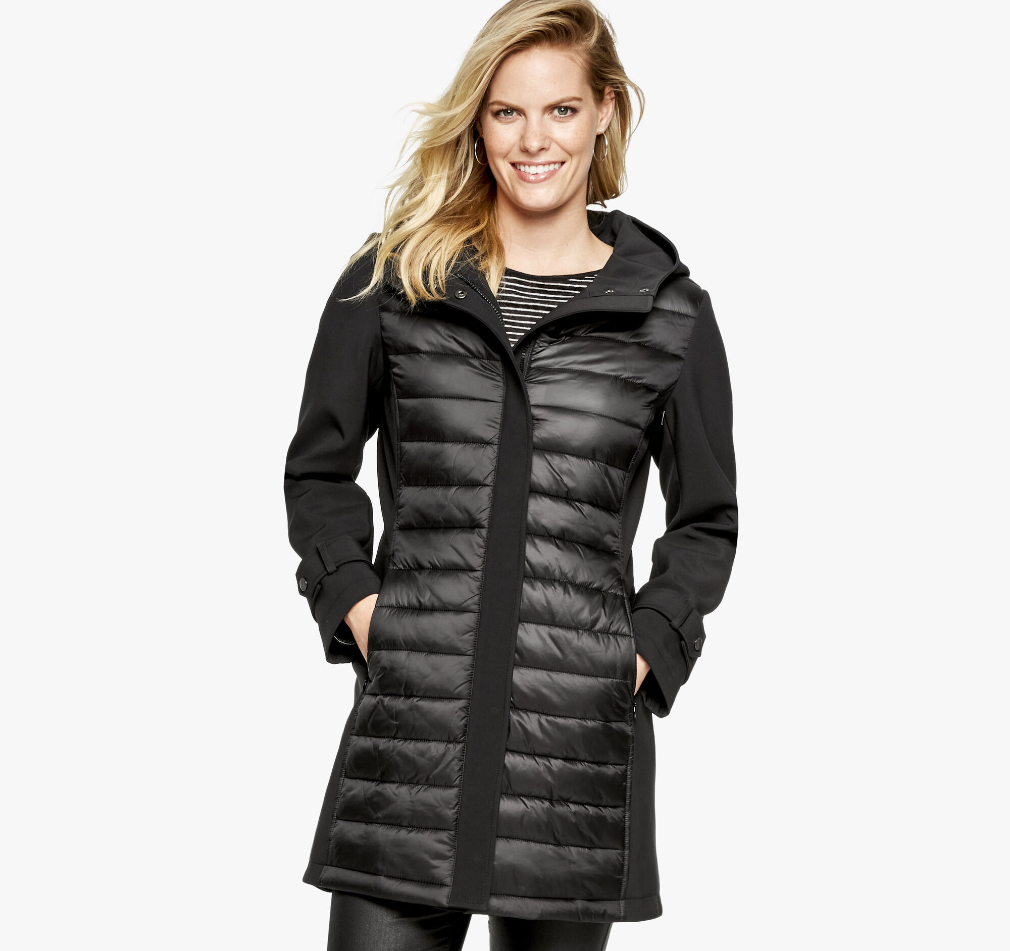 9293f596c Quilted Soft-Shell Jacket   Johnston & Murphy