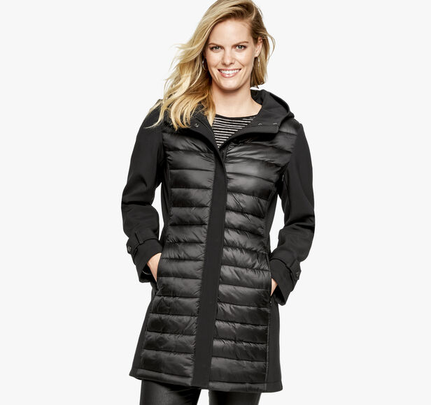 Quilted Soft-Shell Jacket