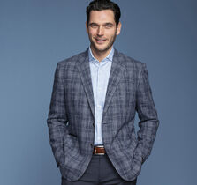 Italian Plaid Blazer