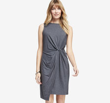 Knot-Waist Knit Dress