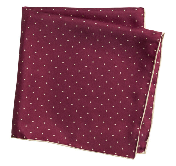 Mini Dot Pocket Square
