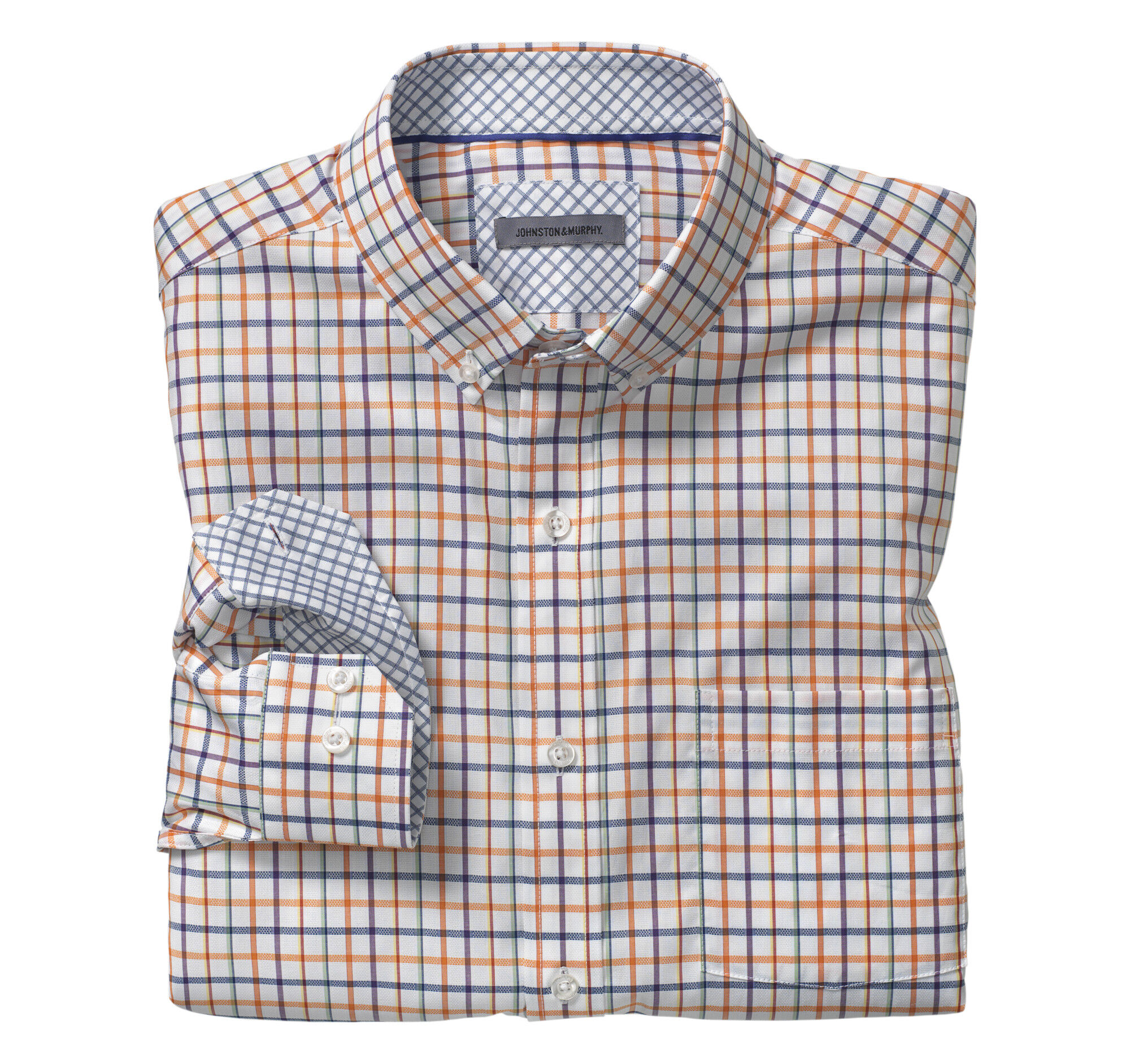 Button-Down Collar Shirt | Johnston & Murphy