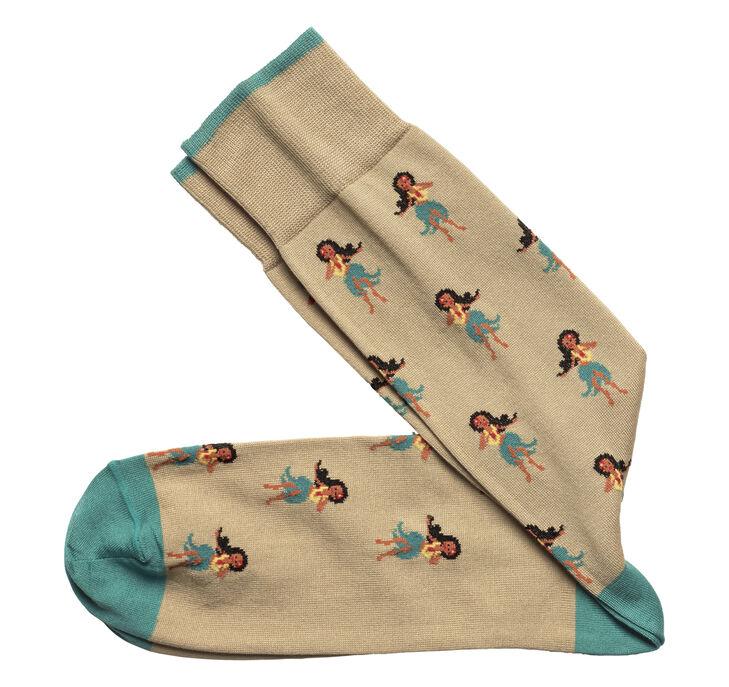 Hula Girl Socks