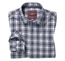 Melange Windowpane Shirt