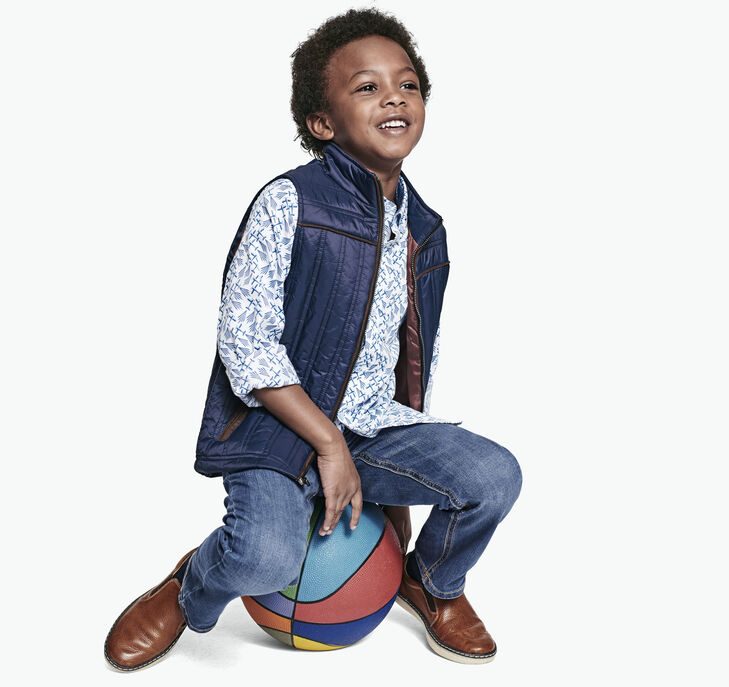 Boys Quilted Vest preview