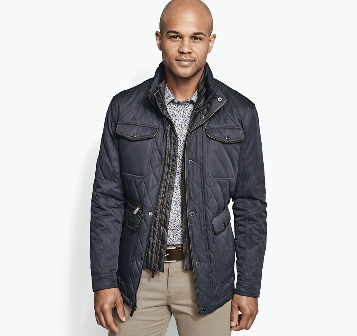 Quilted Bib Jacket