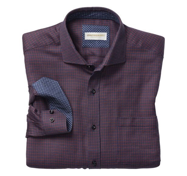 Italian Micro Houndstooth Shirt
