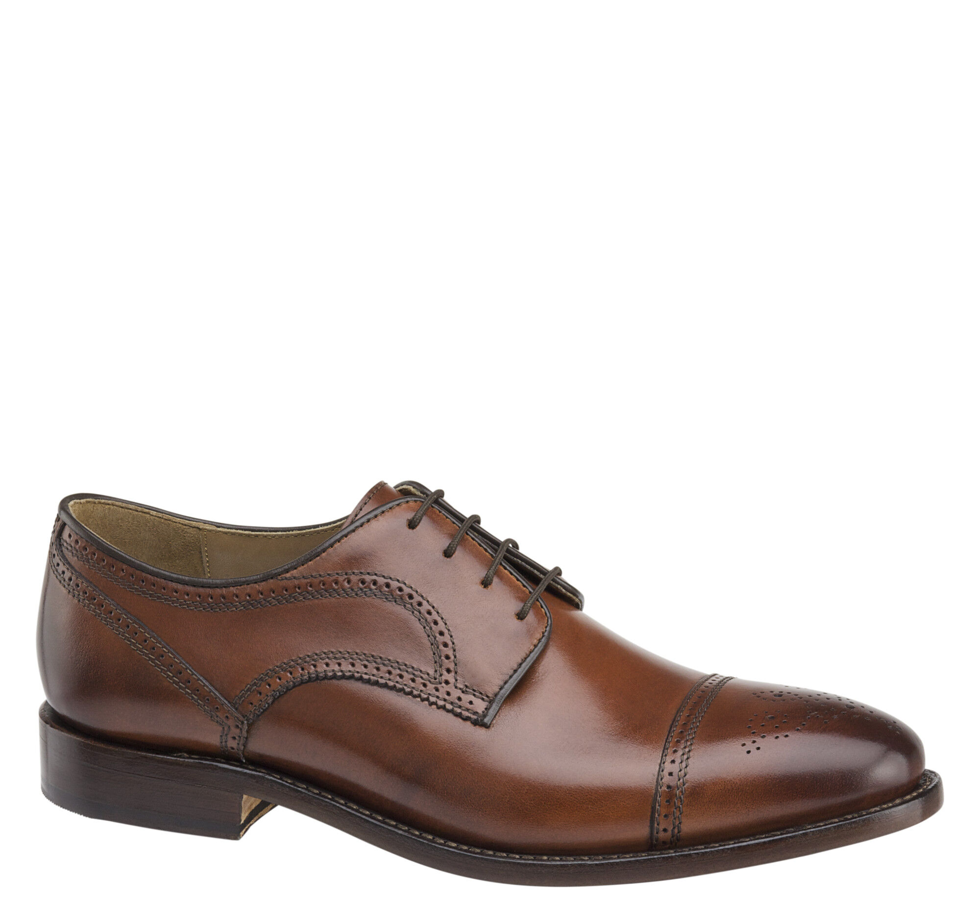 Johnston & Murphy Collins Cap Toe Derby 4txCxOcel