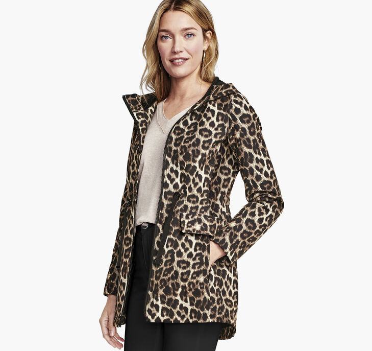 Animal-Print Soft Shell Jacket preview