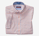 XC4® Windowpane Button-Collar Short-Sleeve Shirt