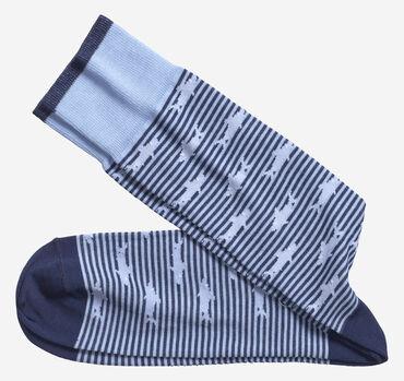Stripe Shark Socks