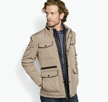 Quilted Bib Jacket