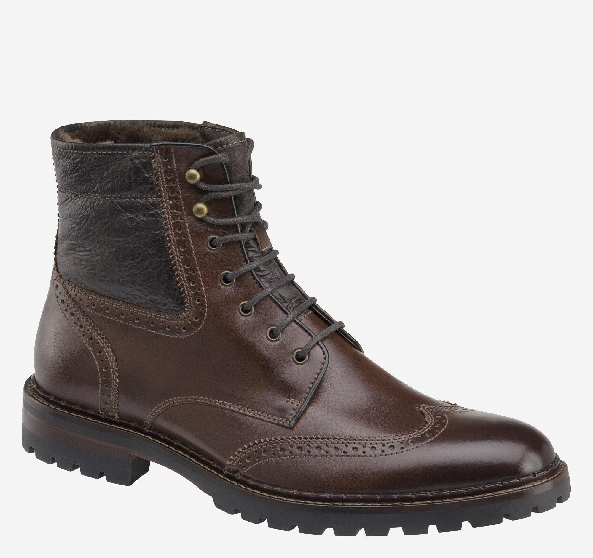Jennings Shearling Boot   Johnston \u0026 Murphy
