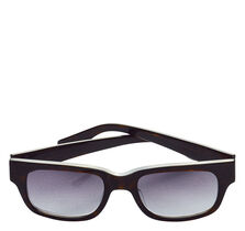 Rectangular Tortoise Sunglasses
