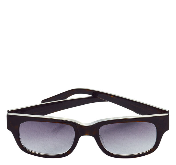 Rectangular Tortoise Sunglasses