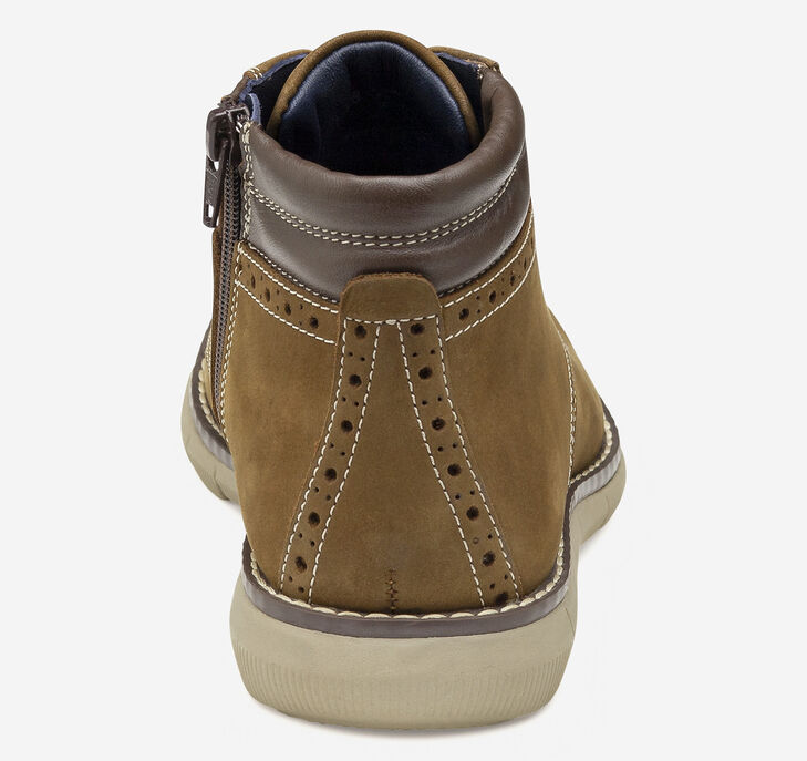 Big Kid Holden Plain Toe Boot