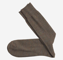 Wool Ribbed Over-The-Calf Socks