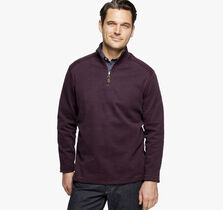 Reversible Cotton Quarter-Zip