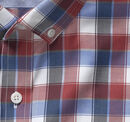 Button-Collar Cotton Shirt