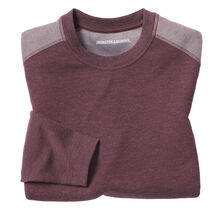 Contrast-Shoulder Pullover