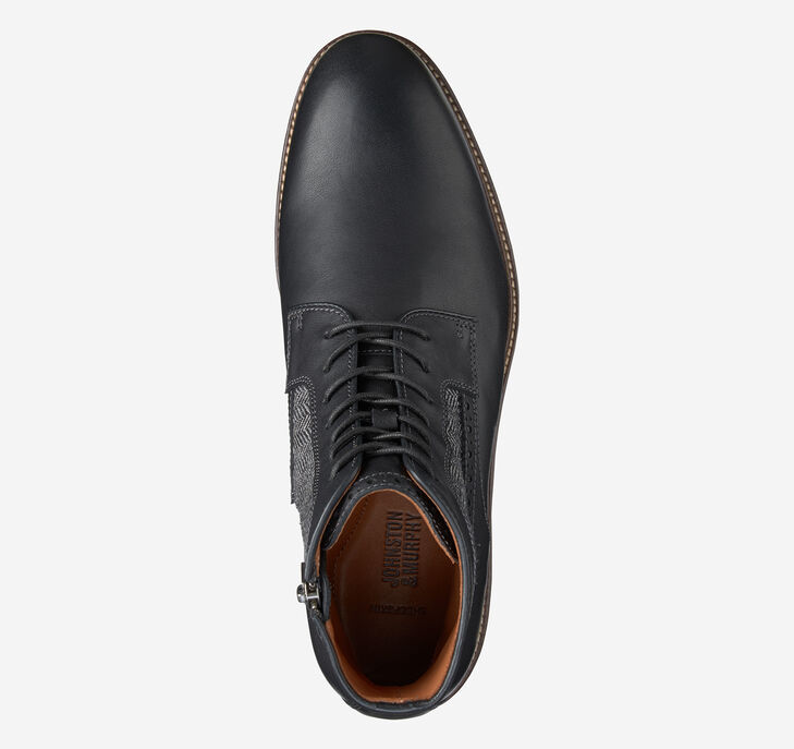 Warner Plain Toe Boot