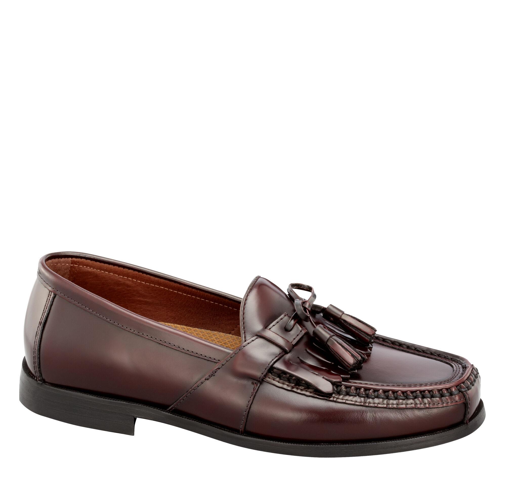 Aragon Ii Kiltie Tassel Johnston Murphy D Island Shoes Slip On Mocasine Casual Brown