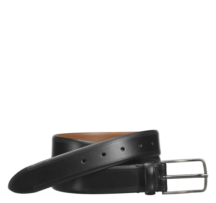 Edge-Perfed Embossed Belt