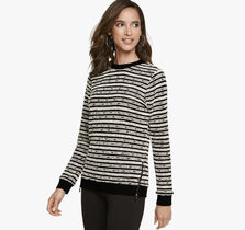 Double Side-Zip Pullover