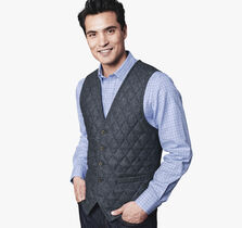 Quilted Tailored Vest