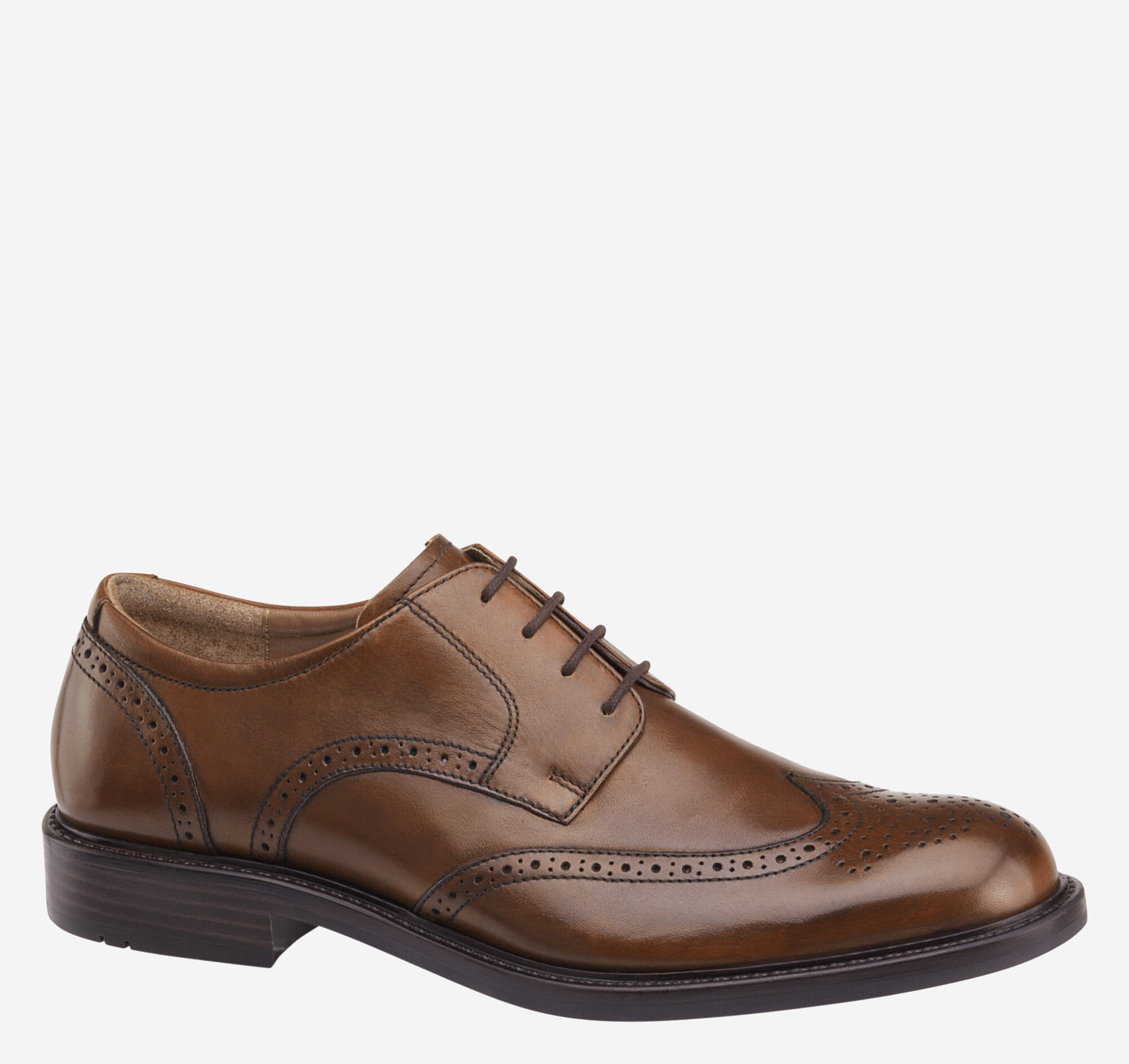 Johnston & Murphy Men's Tabor Wing Tip Oxfords Men's Shoes coOlS
