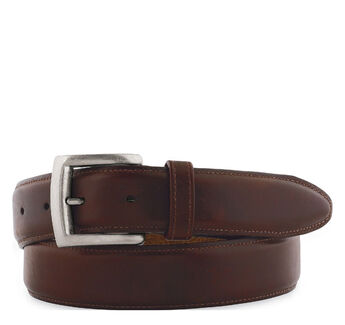 Waxed Leather Belt