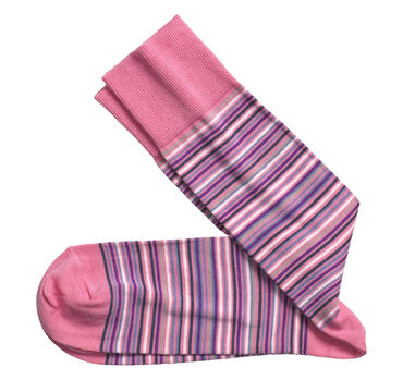 Multi Mini Stripe Socks