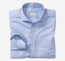 Italian Offset Check Dress Shirt