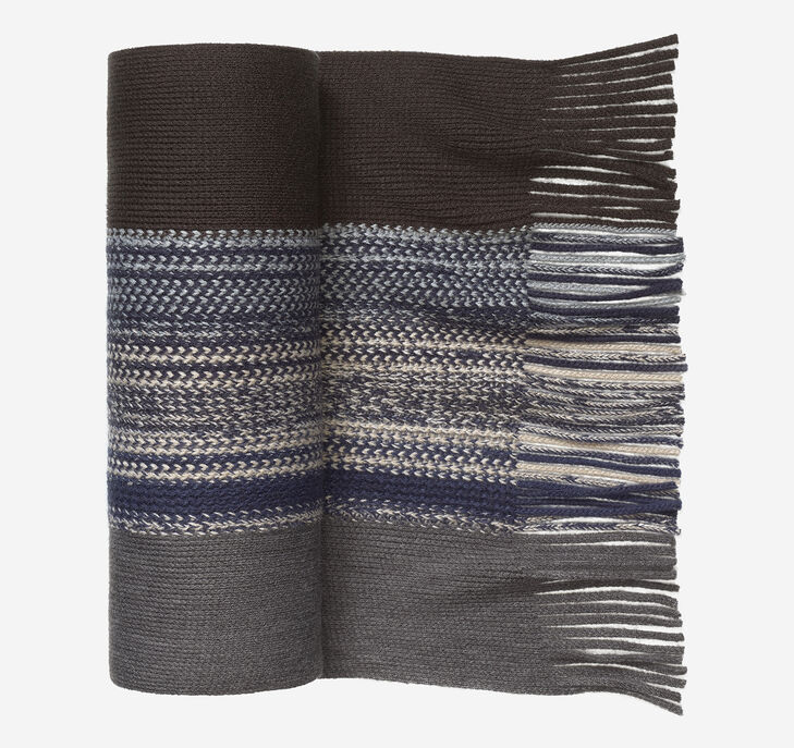 Textured Stripe Scarf
