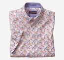 Flower Print Short-Sleeve Shirt