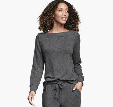 Boatneck Knit Pullover