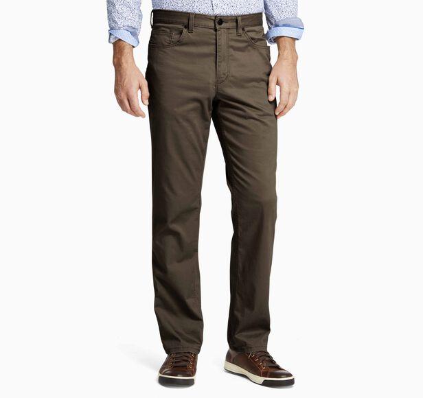 Regular Fit Five-Pocket Pants