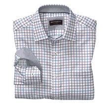 Alternating Grid Check Shirt
