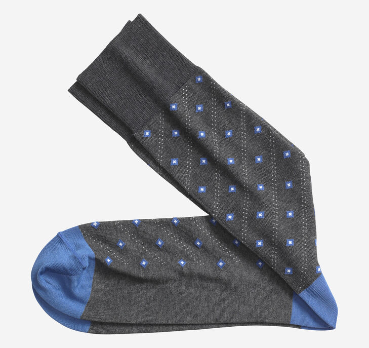Floating Diamonds Socks