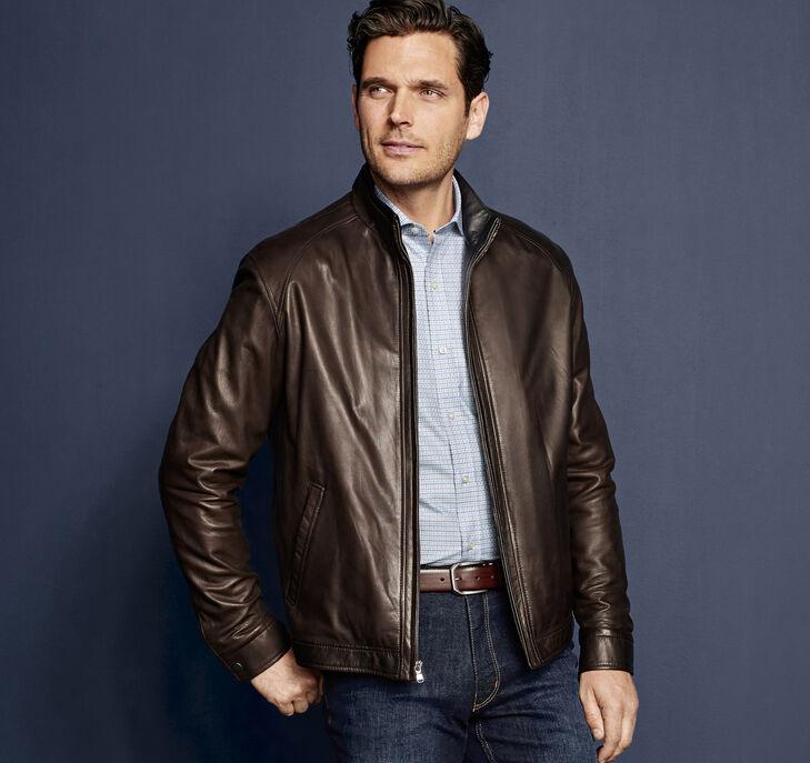 Italian Glove Leather Jacket