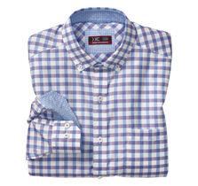 XC4® Wide Gingham Oxford Button-Collar Shirt