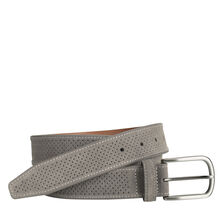 Perfed Suede Belt